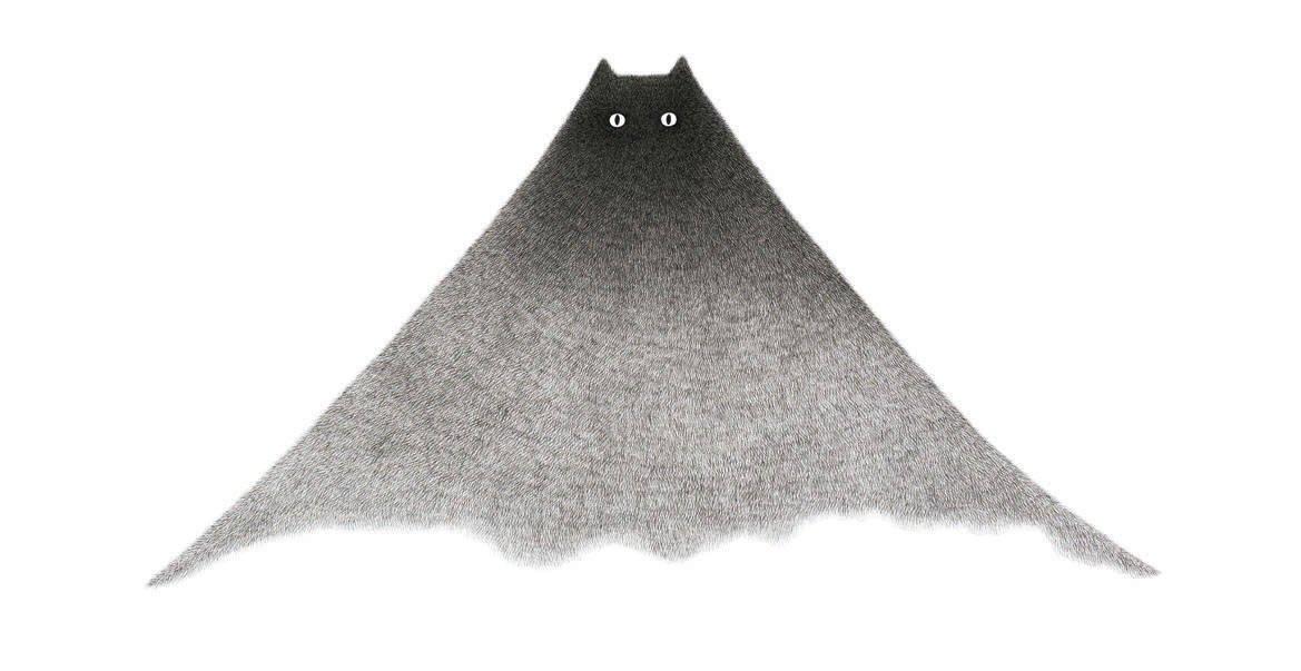 Пушистые кошки от малазийского иллюстратора