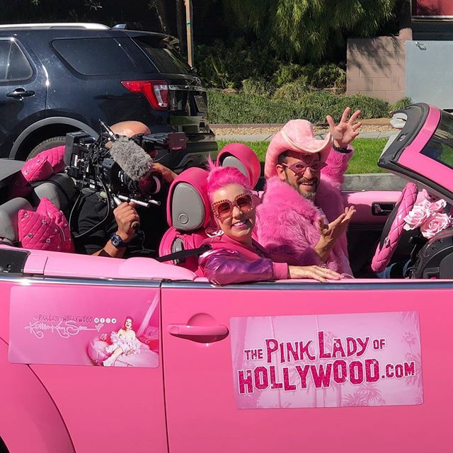 52-летняя дама признана самой розовой персоной в мире