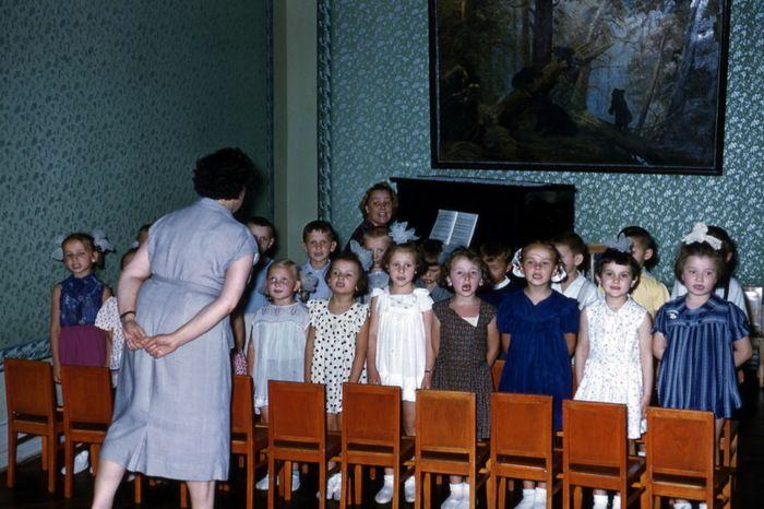 Неизвестные ранее цветные снимки СССР