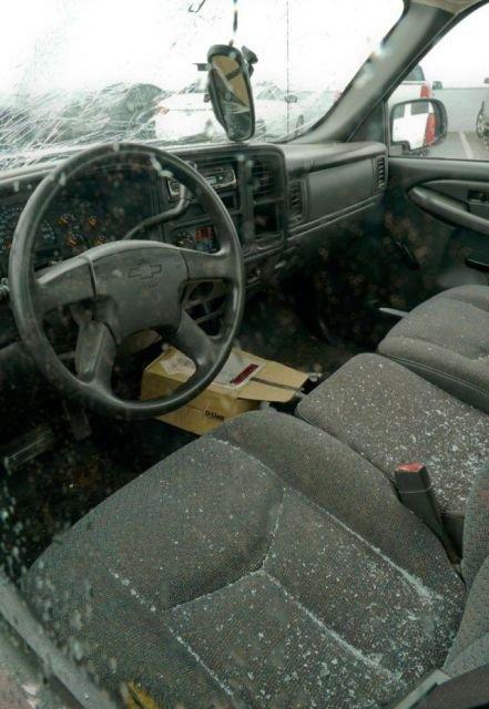 В Алабаме град повредил 380 новых Автомобилей