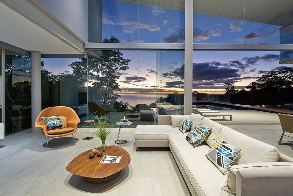 Дом на полуострове в Коста-Рике