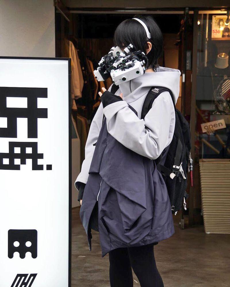 Киберпанковские гаджеты от японского мастера Хирото Икеючи