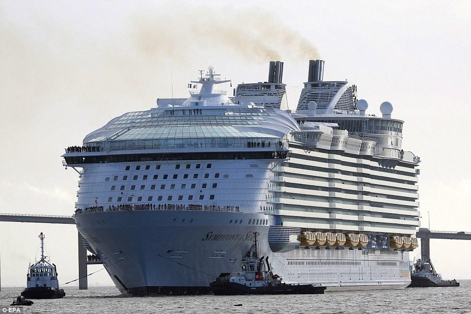 Самый большой круизный корабль в мире