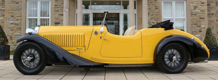 Эксклюзивный кабриолет Bugatti Type 57 Grand Raid 1935 года