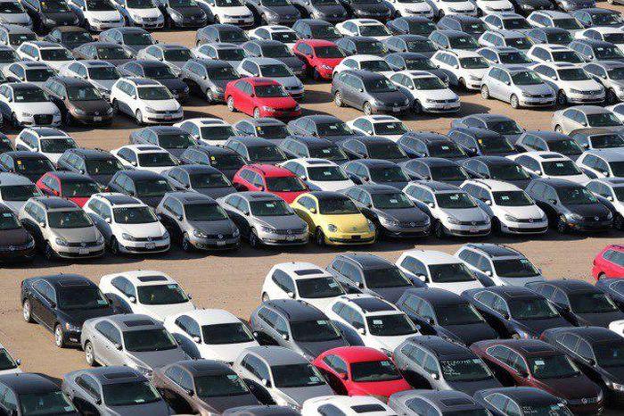 Автокладбище Volkswagen и Audi в Калифорнии
