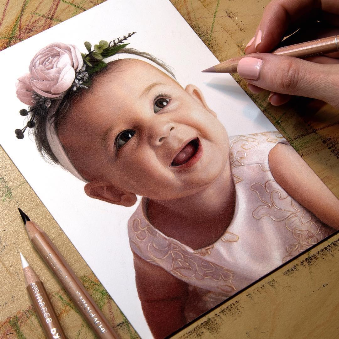 Гиперреалистичные карандашные рисунки, которые трудно отличить от фотографий