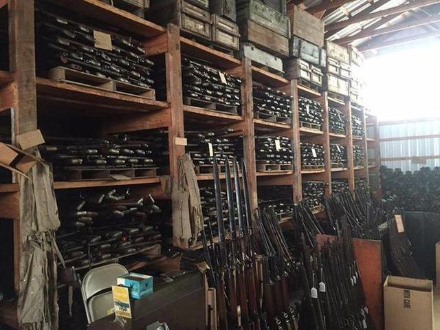 Супермаркет исторического оружия в Пенсильвании