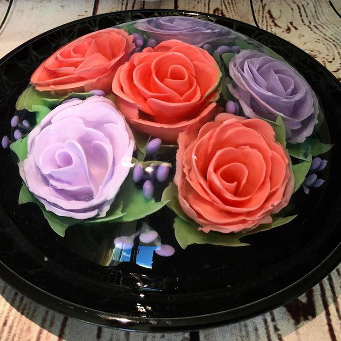 Удивительные желейные 3D-торты