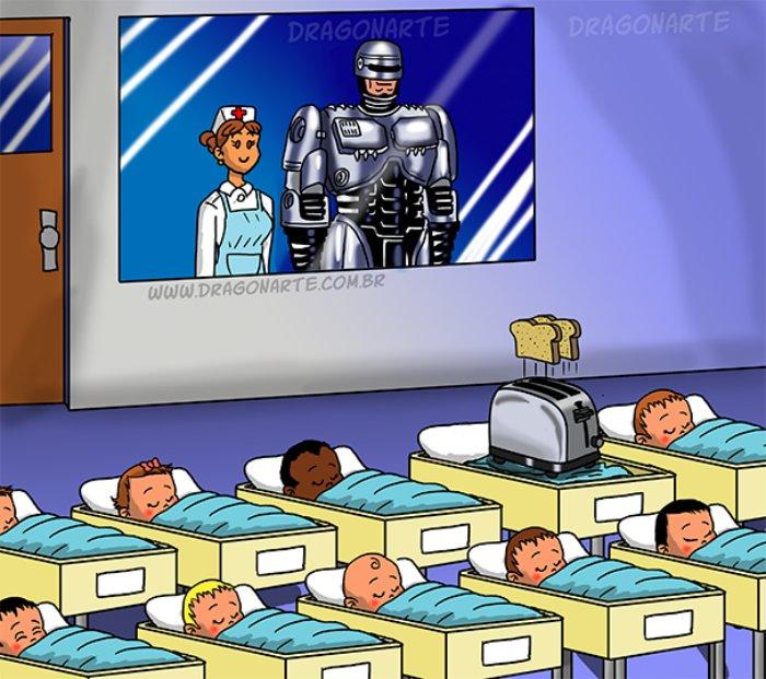 Весь в отца: как бы выглядели дети супергероев
