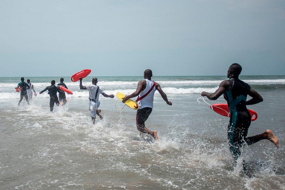 Национальный водный спасательный отряд Ганы
