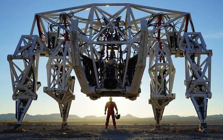 Экзоскелет весом 3,5 тонны расширяет границы человеческих возможностей