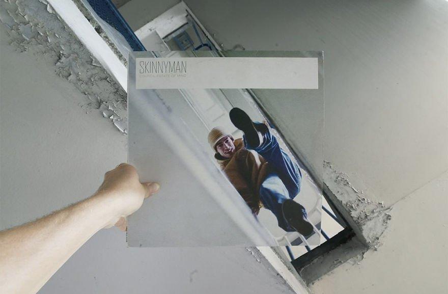 Обложки пластинок рэгги-исполнителей на оригинальном фоне