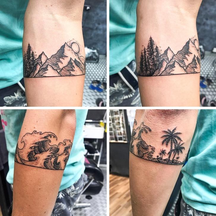 Необычные и оригинальные татуировки
