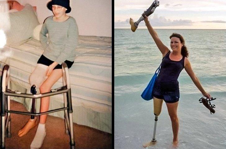 Любопытная подборка фото: до и после