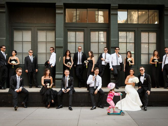 Свадебные фотобомбы, которые лучше постановочных снимков