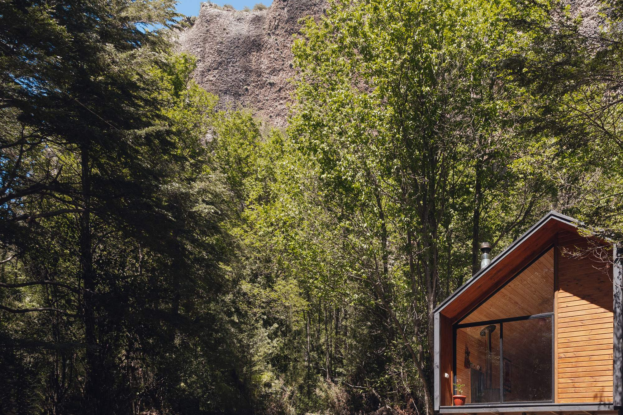 Небольшой домик в чилийских горах