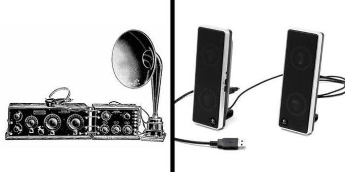 Бытовые предметы тогда и сейчас