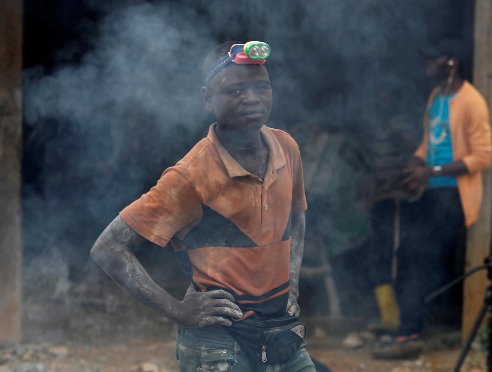 Добыча золота в Конго