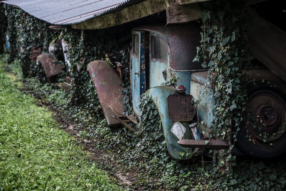 Удивительные гаражные находки