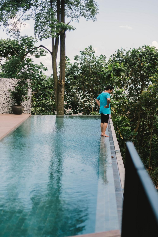 Необычный дом в бетонной оболочке в Малайзии