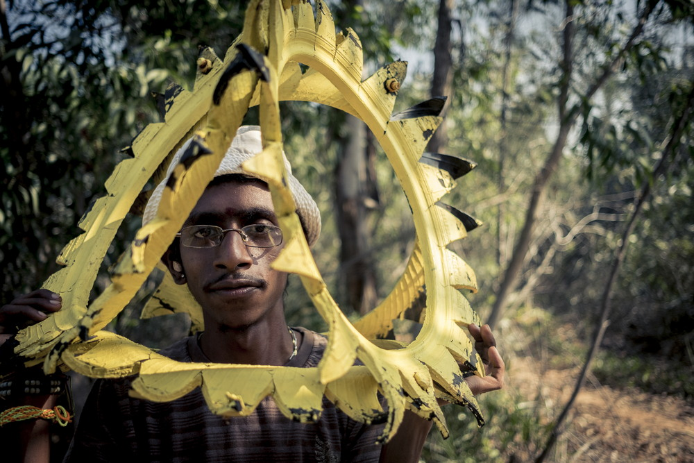 Город Ауровиль в индийских джунглях