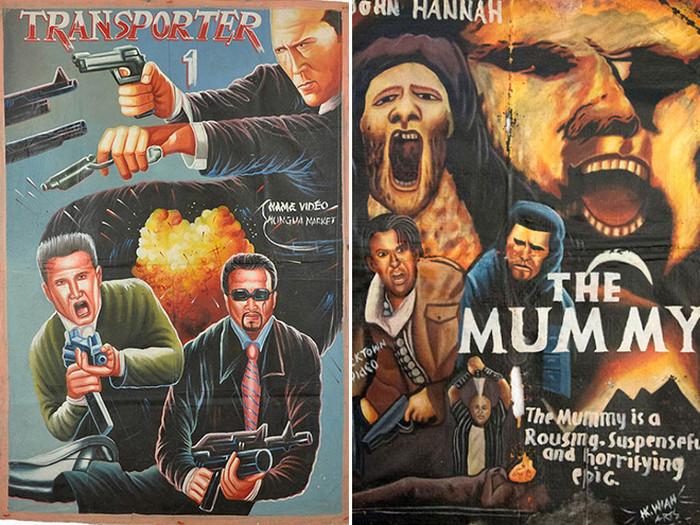 Африканские постеры к голливудским блокбастерам