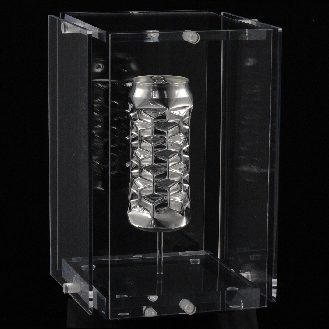 Гипнотические скульптуры из алюминиевых банок от Ноа Деледда