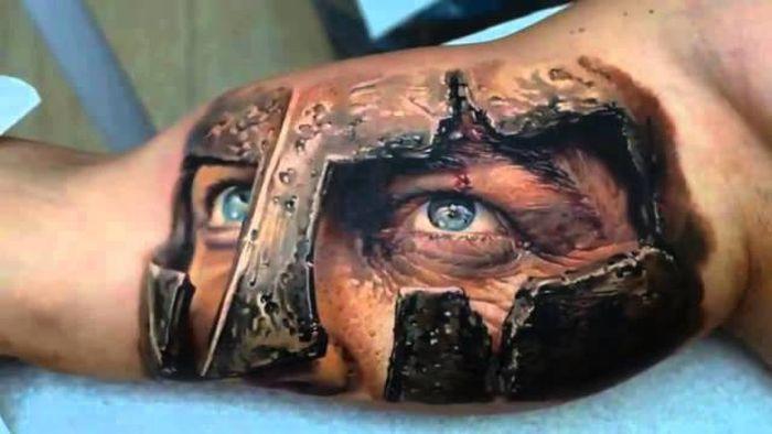 Необычные креативные татуировки