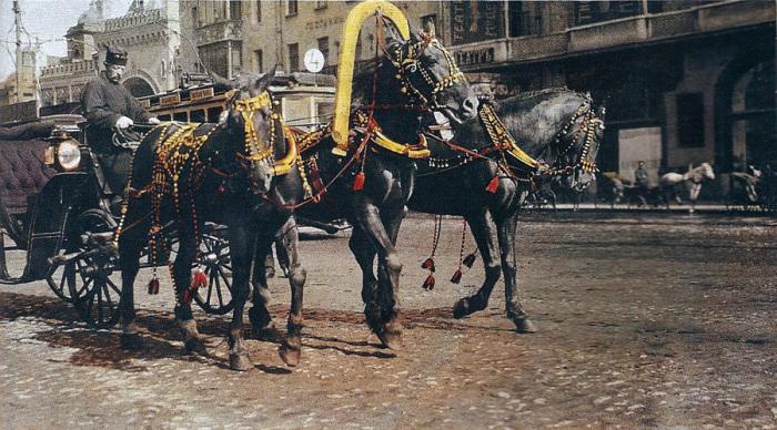 Правила дорожного движения в Российской империи