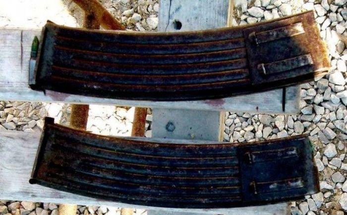В Польше на чердаке старого дома нашли немецкий автомат Sturmgewehr 44