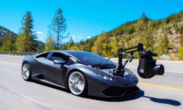 Камеромобиль на базе суперкара Lamborghini Huracan