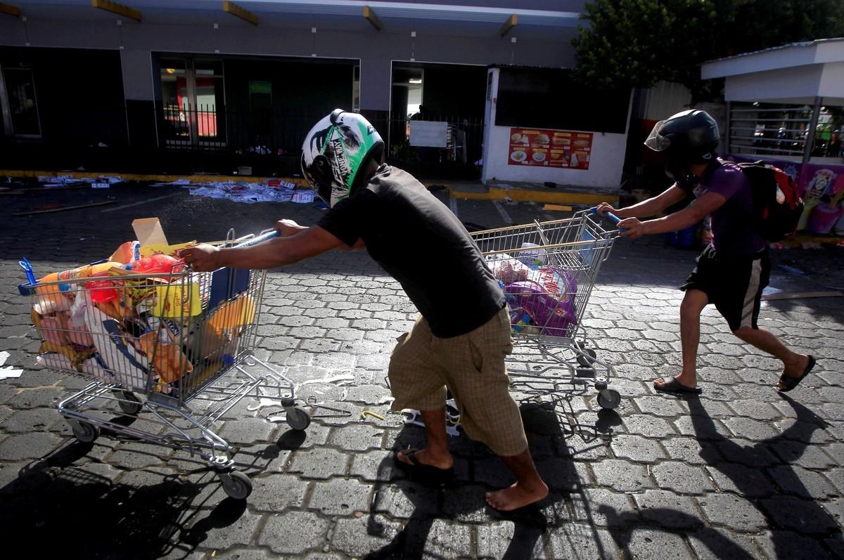 Пенсионная реформа вызвала грабежи и погромы в Никарагуа