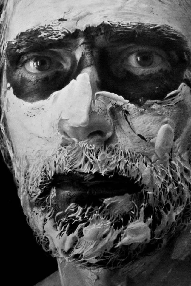 Работы разных художников-гиперреалистов