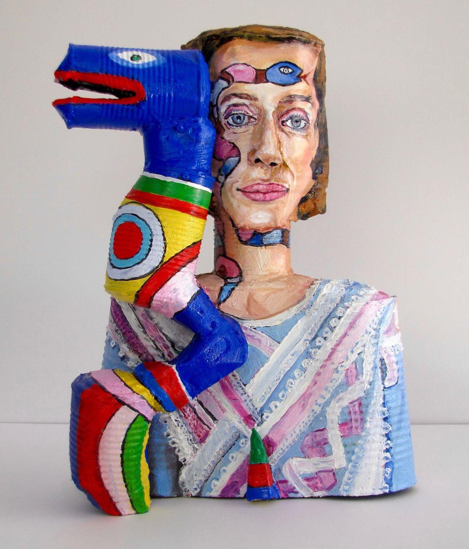 Скульптуры известных художников из консервных банок