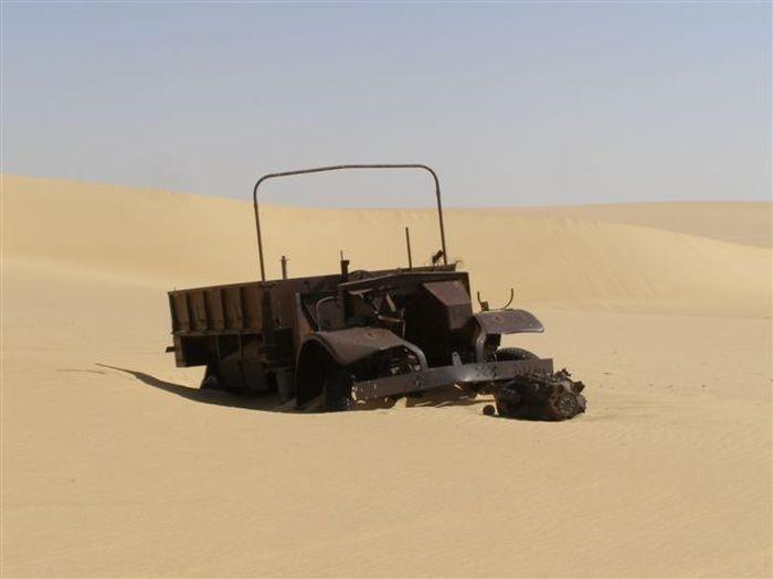 Отголоски Второй мировой войны в пустыне Египта
