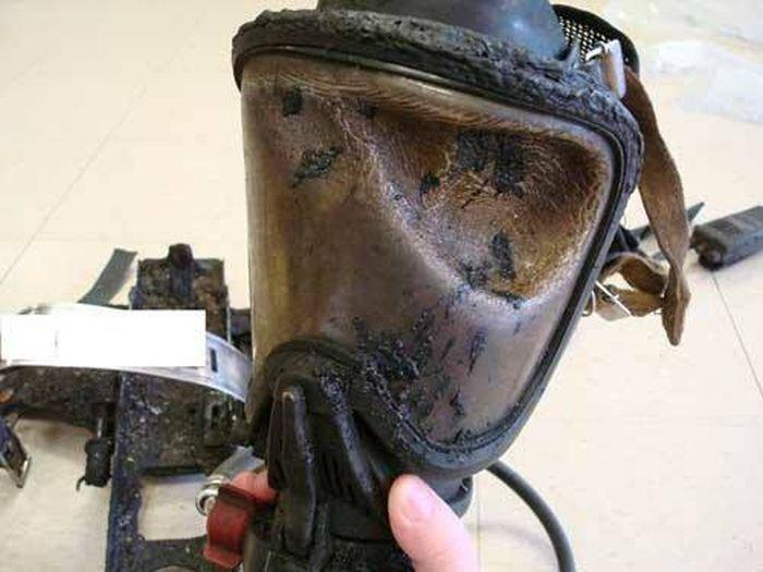 Средства индивидуальной защиты пожарных и огонь