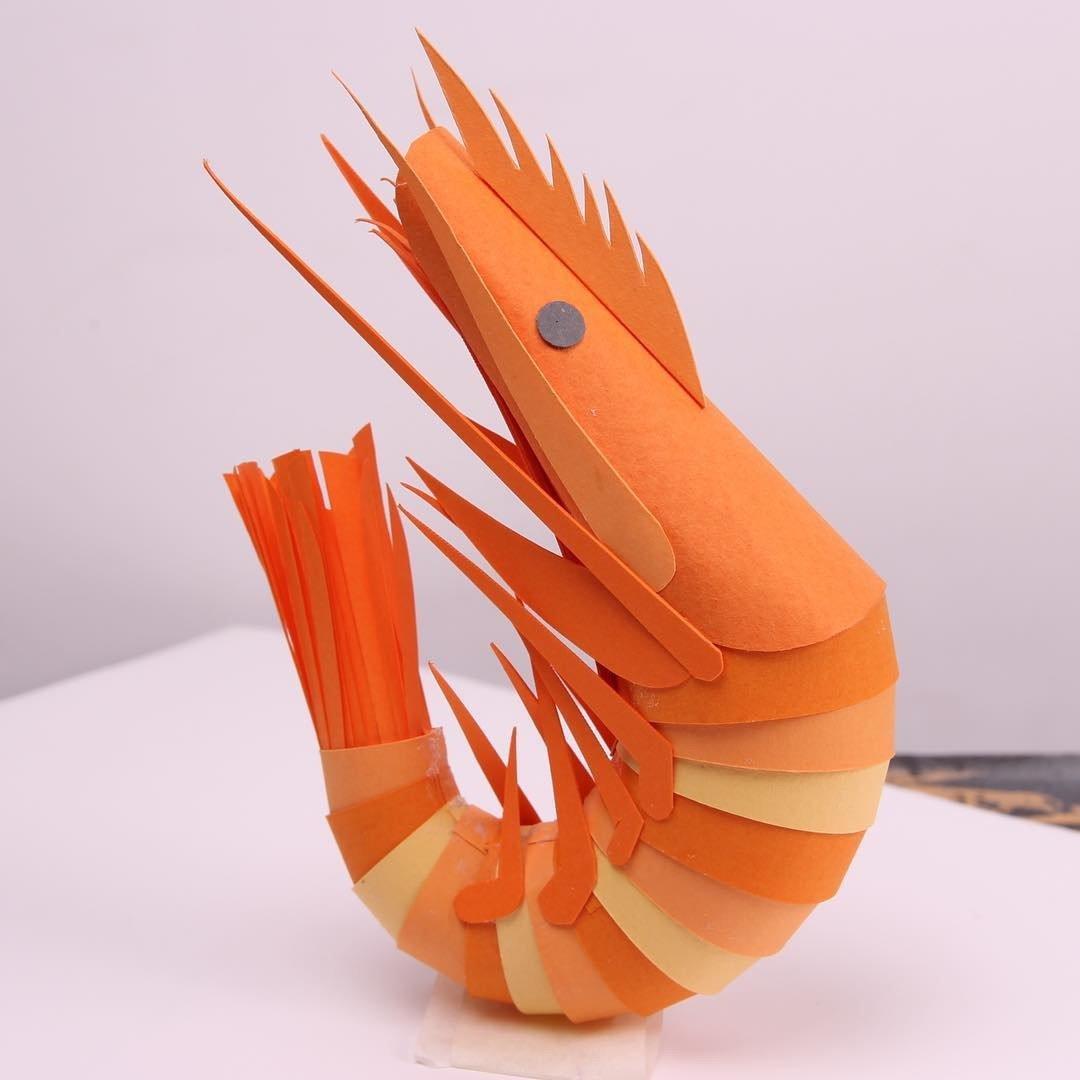 Трехмерные бумажные скульптуры от Лизы Ллойд