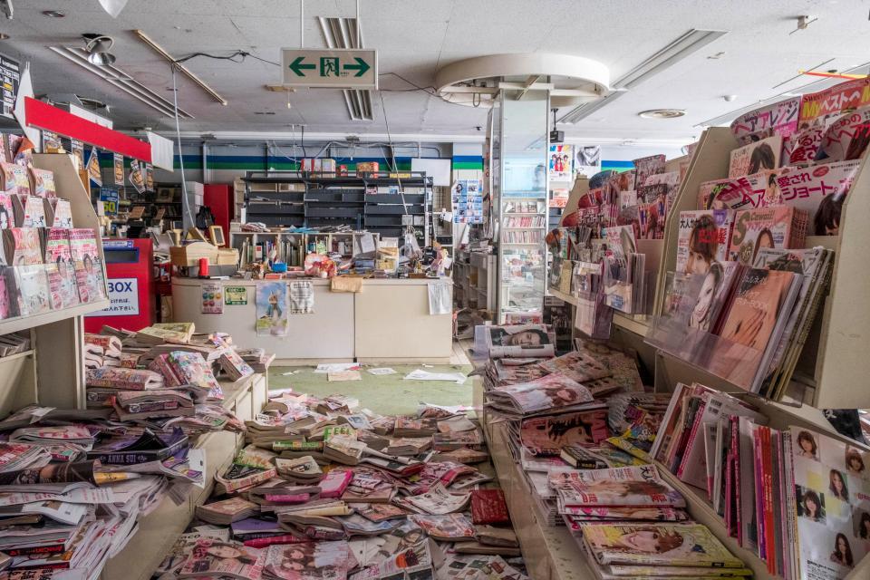 Заброшенные улицы Фукусимы спустя 7 лет после ядерной катастрофы