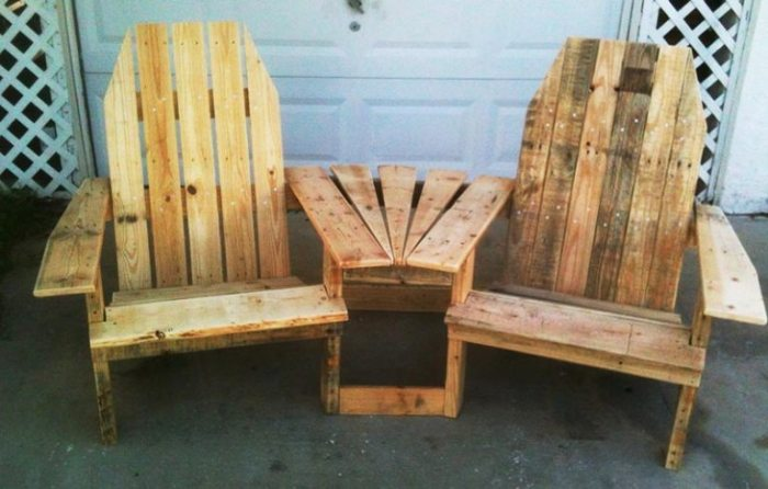 Оригинальные идеи для дачного участка из деревянных поддонов