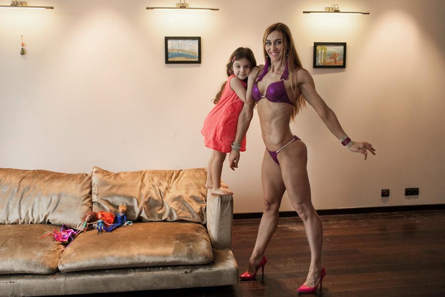 Сильные женщины в фотопроекте Ксении Сидоровой