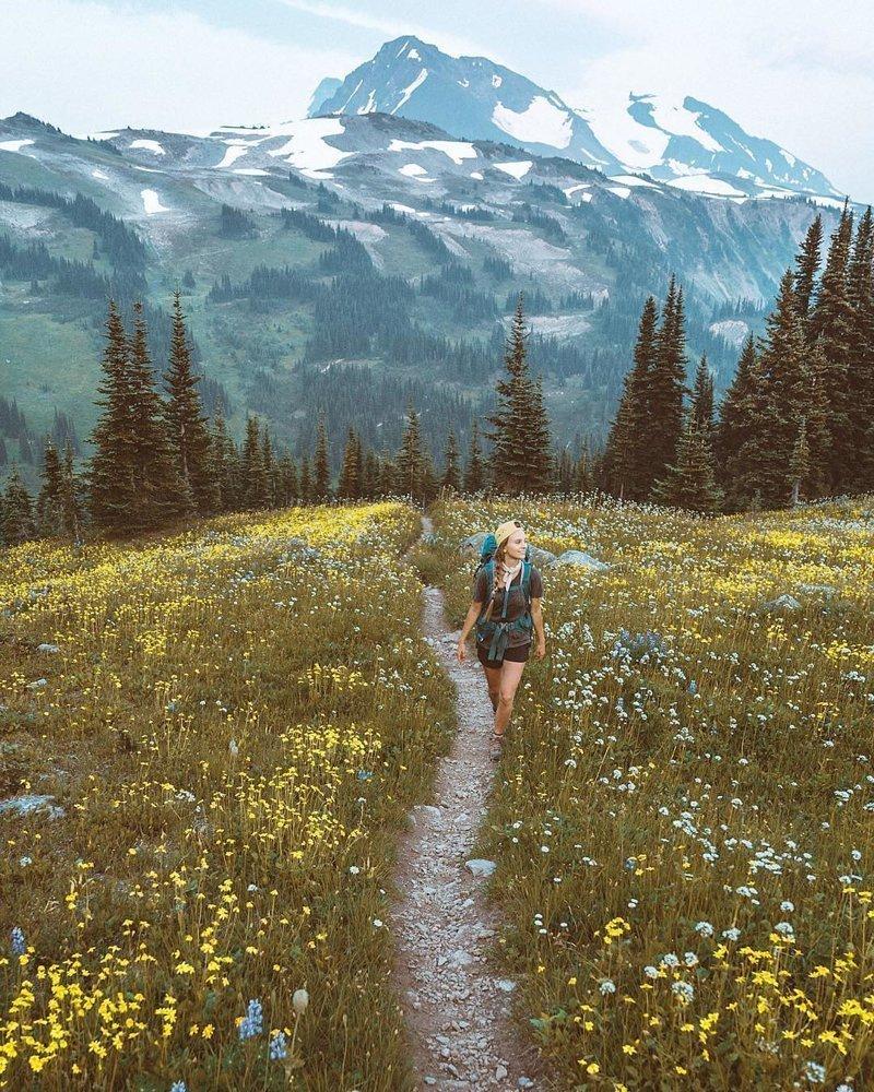 Великолепные фотографии человека наедине с природой