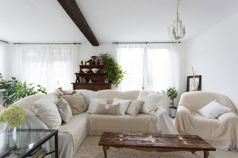 Французский прованс в доме под Выборгом