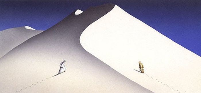 Сюрреалистичные рисунки от Ги Бийю