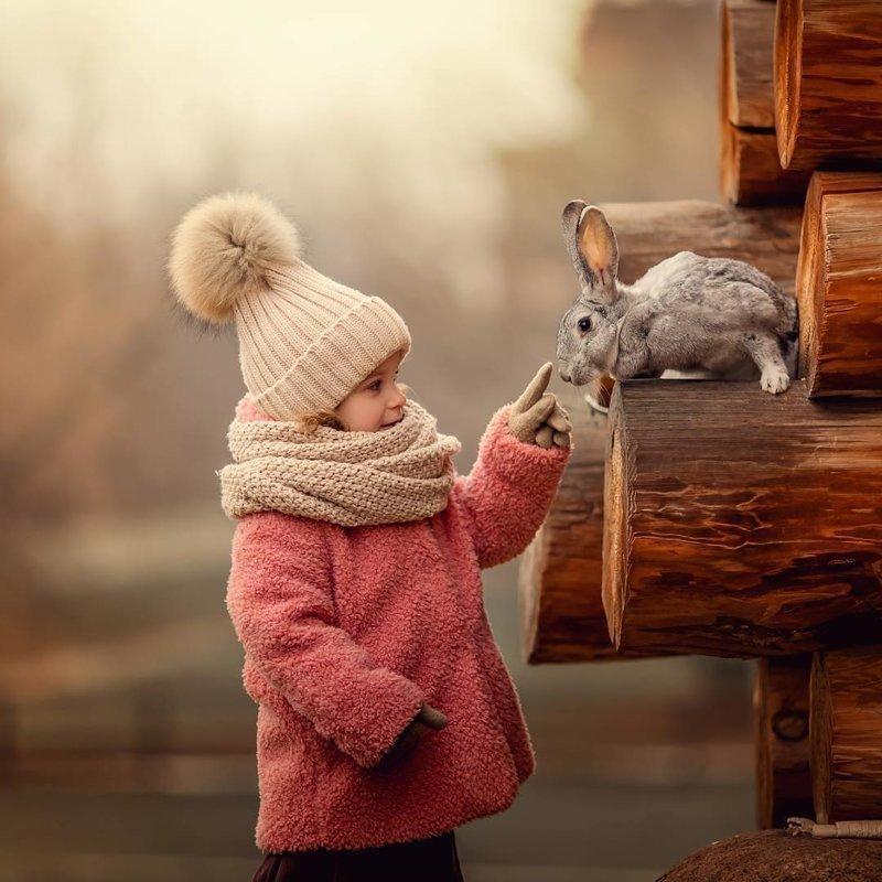 Дети и животные