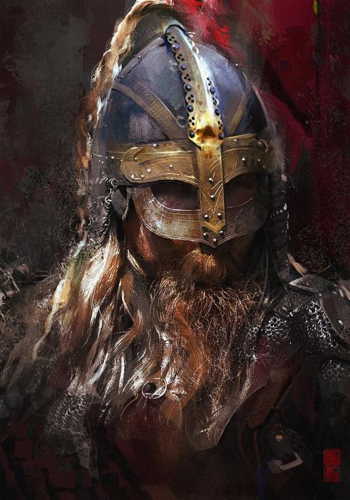 Викинги - суровые мореходы и воины