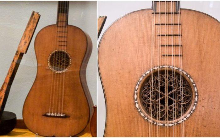 Гитара Страдивари, на которой до сих пор можно играть