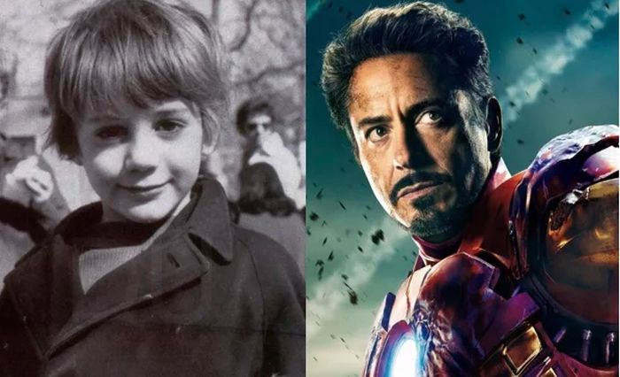 Детские фото актеров Мстителей