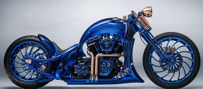 Самый дорогой мотоцикл Harley-Davidson в мире