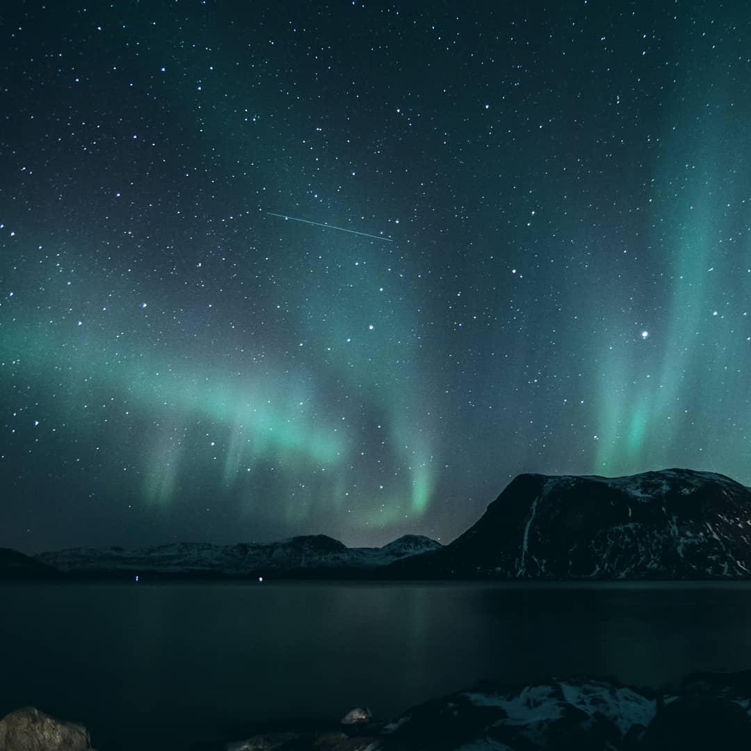 Ночные пейзажи Норвегии от Криса Робина Сивертсена
