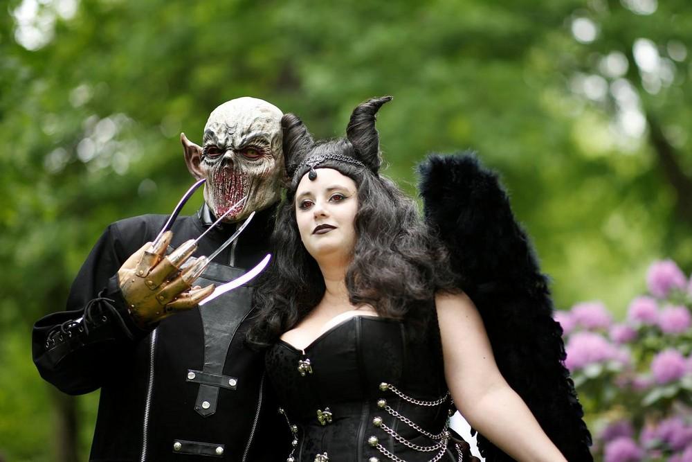 Ежегодный фестиваль Wave-Gotik-Treffen в Германии